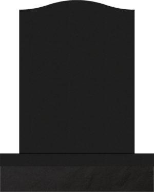 Upright Monument 18x8x24 Black