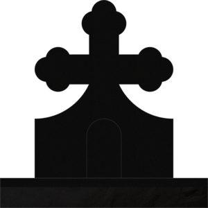 Orthodox Cross 28x8x36 H